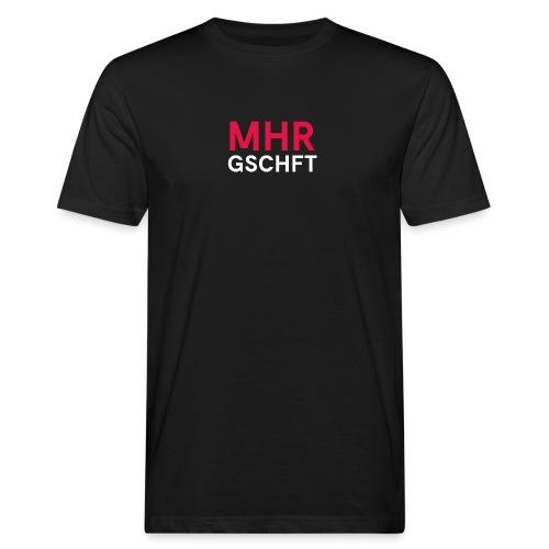 MHR GSCHFT - Männer Bio-T-Shirt