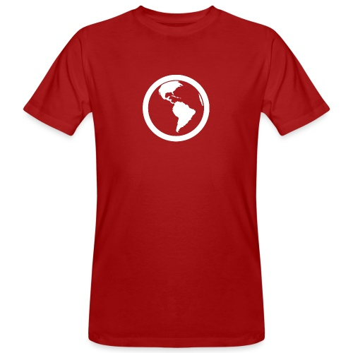 Earth - T-shirt ecologica da uomo
