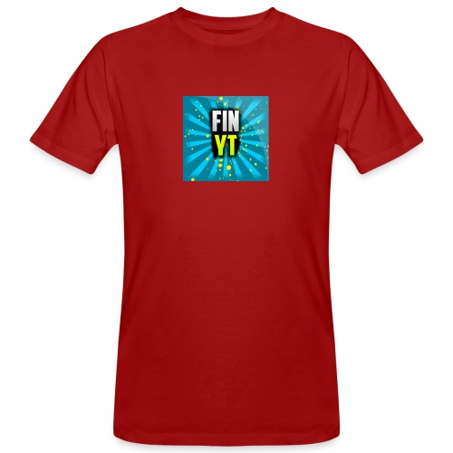 Uusi Youtube Logo - Miesten luonnonmukainen t-paita