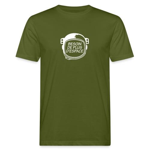 BESOIN PLUS D'ESPACE - T-shirt bio Homme