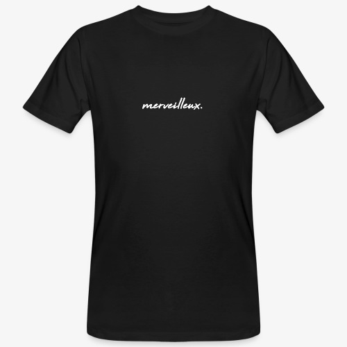 merveilleux. White - Men's Organic T-Shirt