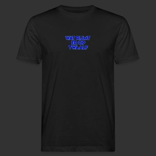 wat rijmt er op twaalf - Mannen Bio-T-shirt