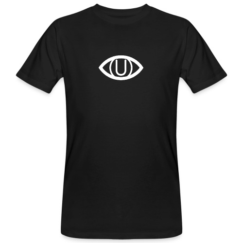 EYE SYMBOL WHITE - Men's Organic T-Shirt
