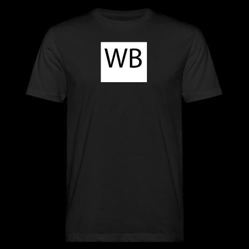 WB Logo - Männer Bio-T-Shirt