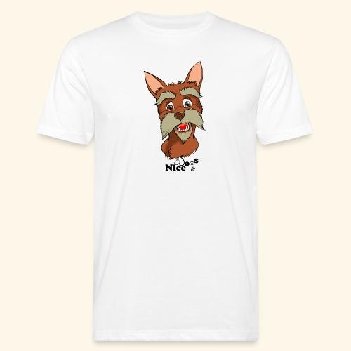 Nice Dogs schnauzer 2 - T-shirt ecologica da uomo