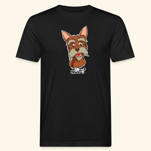 Nice Dogs schnauzer - T-shirt ecologica da uomo