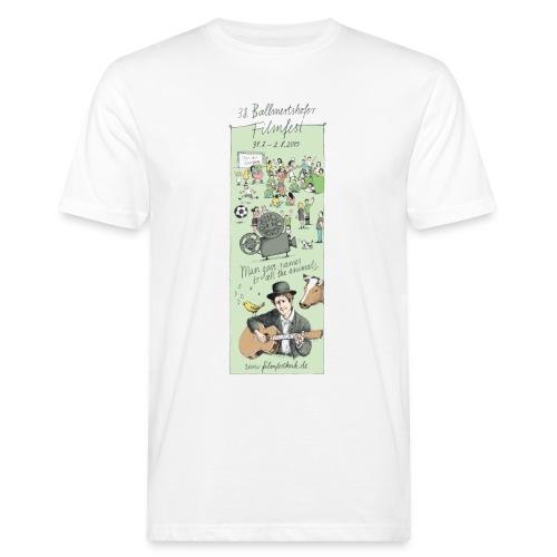 Motiv 2015 weiss - Männer Bio-T-Shirt