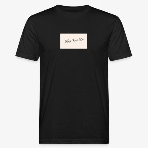 Kings Never Die - Men's Organic T-Shirt