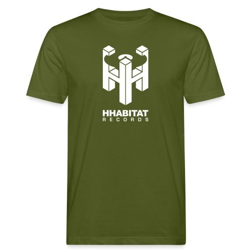 HHabitat Records Logo - T-shirt ecologica da uomo