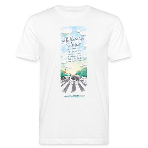Ballmertshofer filmfest 2016 Flyer webA Shirt 1 - Männer Bio-T-Shirt
