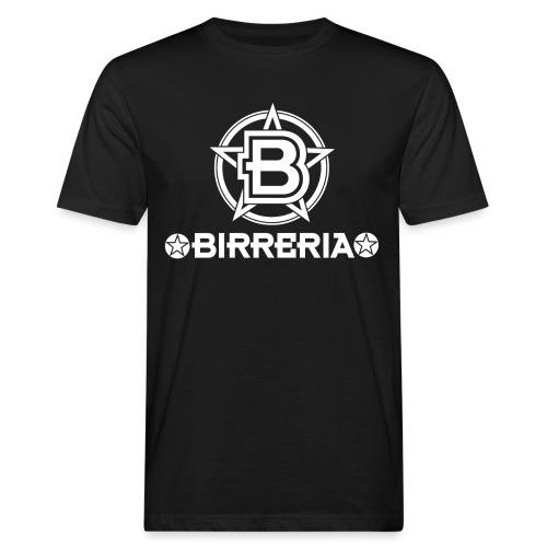 Logo Birreria 2021 white - Männer Bio-T-Shirt
