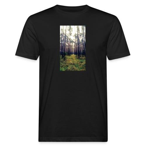 Las we mgle - Ekologiczna koszulka męska