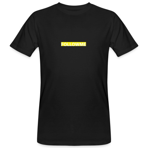 Followme Yellow - Camiseta ecológica hombre
