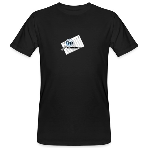 The scrutineer logo - Men's Organic T-Shirt