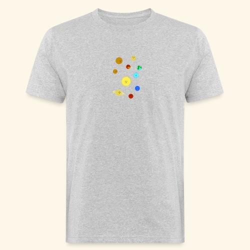 Solsystemet - Ekologisk T-shirt herr