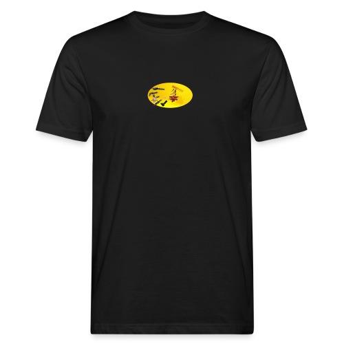 CROW MEME - Männer Bio-T-Shirt