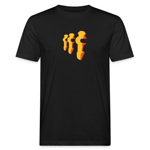 Kickerfiguren - Kickershirt - Männer Bio-T-Shirt