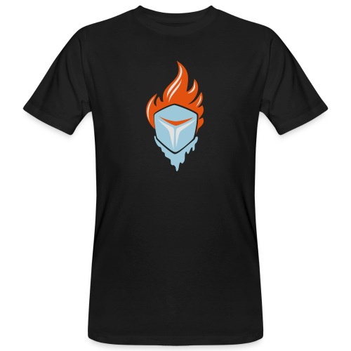Fire and Ice 3C - Männer Bio-T-Shirt