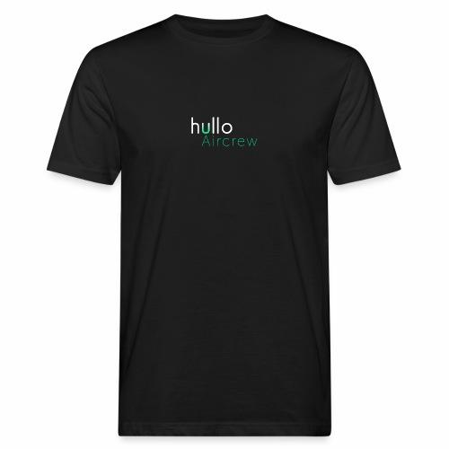 hullo Aircrew Dark - Men's Organic T-Shirt