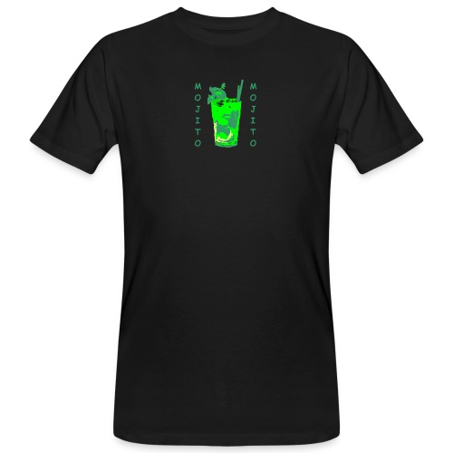 Mojito bicchiere colorato - T-shirt ecologica da uomo