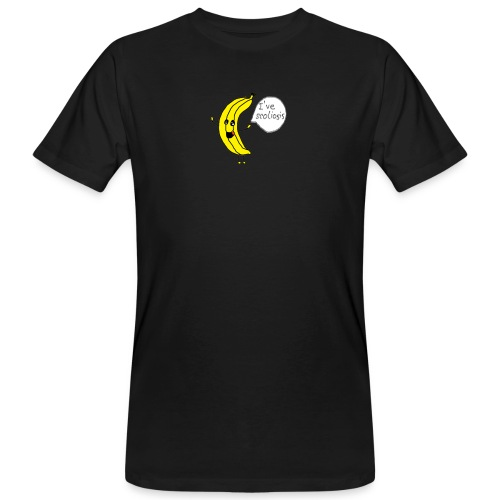 Banana have scoliosis - Männer Bio-T-Shirt