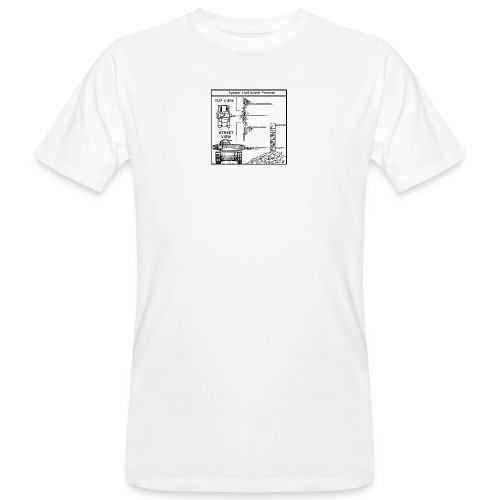 W.O.T War tactic, tank shot - Men's Organic T-Shirt