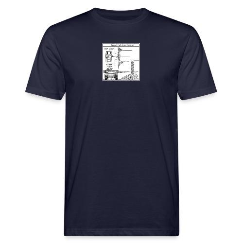 W.O.T War tactic, tank shot - Men's Organic T-Shirt