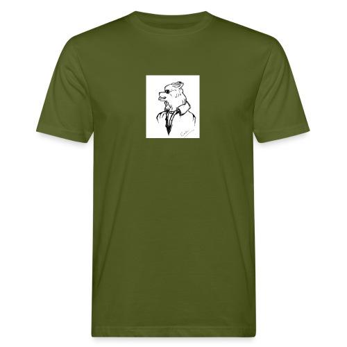 InkedThe Dog style bak LI - Camiseta ecológica hombre