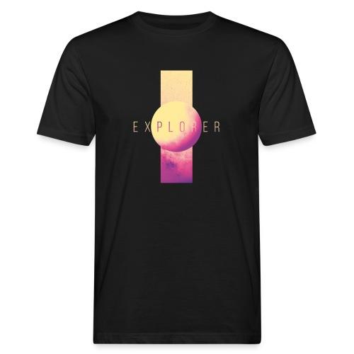 Explorer - Mannen Bio-T-shirt