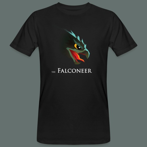Falconeer FalconHead - Mannen Bio-T-shirt