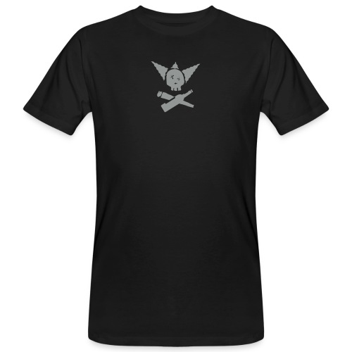 krustyskull2 zw clean - Männer Bio-T-Shirt