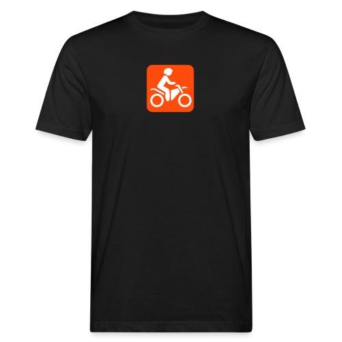 motorcycle - Miesten luonnonmukainen t-paita