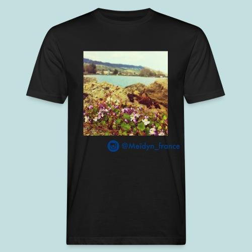 violettes - T-shirt bio Homme