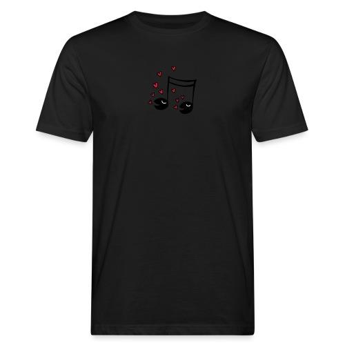 Love tunes - Männer Bio-T-Shirt
