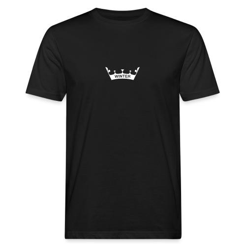 Krone Winter - Männer Bio-T-Shirt