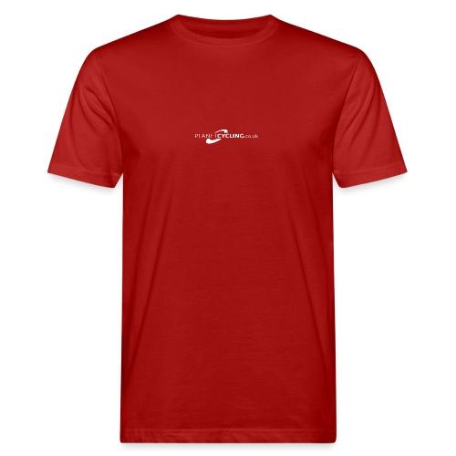 Planet Cycling Web Logo - Men's Organic T-Shirt