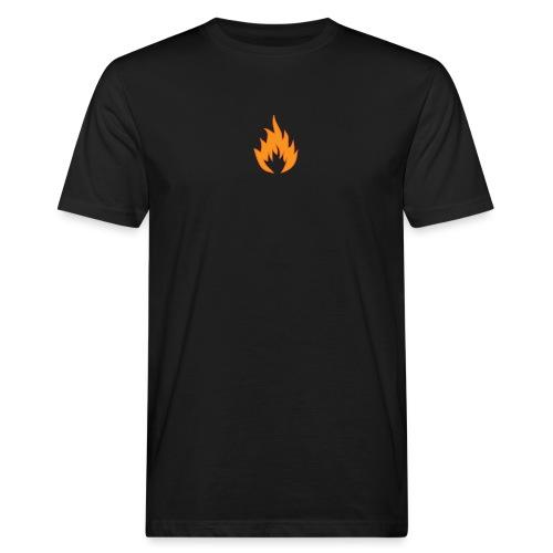 Flame BLACK - T-shirt bio Homme