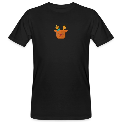 When Deers Smile by EmilyLife® - Men's Organic T-Shirt