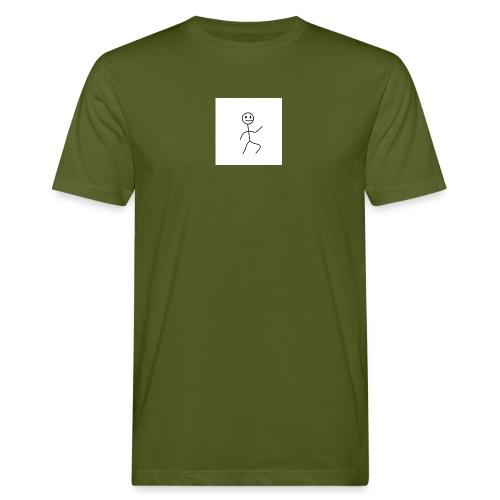 stick man t-shirt dance 1,0 - Organic mænd