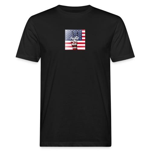 Fresh and Nice America - Männer Bio-T-Shirt