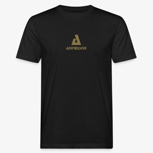 Aggressive Brand - Camiseta ecológica hombre