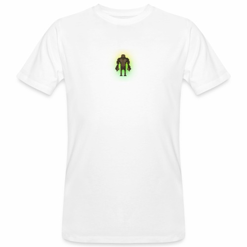 1980's Bigfoot Glow Design - Men's Organic T-Shirt