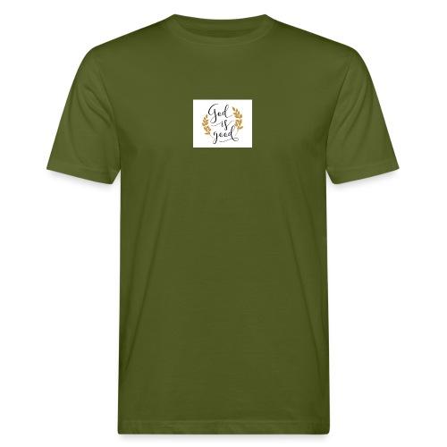 God is good label Jetzinger - Männer Bio-T-Shirt
