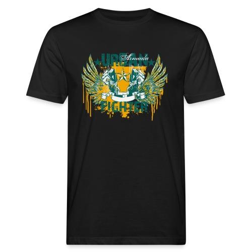 skuls urban fighter - Männer Bio-T-Shirt