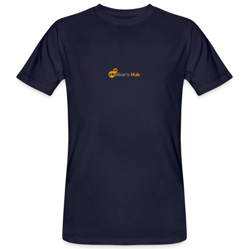 Biker's Hub Small Logo - Men's Organic T-Shirt