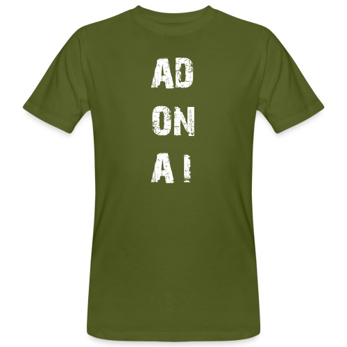 AD ON AI - Männer Bio-T-Shirt