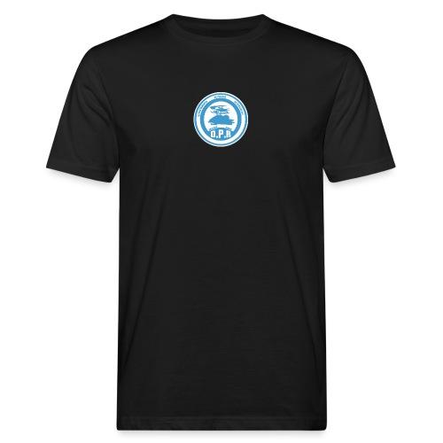 Logo de Policía de Realiacity - Camiseta ecológica hombre