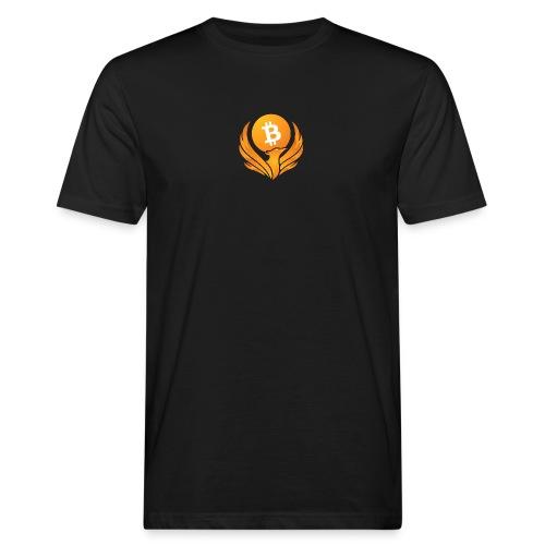 BITCOIN FENIKS - Ekologiczna koszulka męska