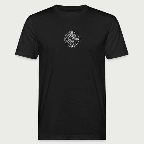KFTG Logo weiss - Männer Bio-T-Shirt
