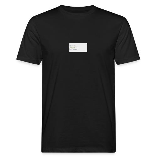 code - T-shirt bio Homme